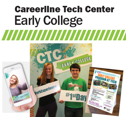 Careerline Tech Center Early College branding items