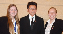 Dental Careers first place HOSA winner