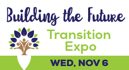 Building the future transition expo. Wednesday, Nov. 6th