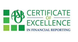 ASB Certificate of Excellence logo
