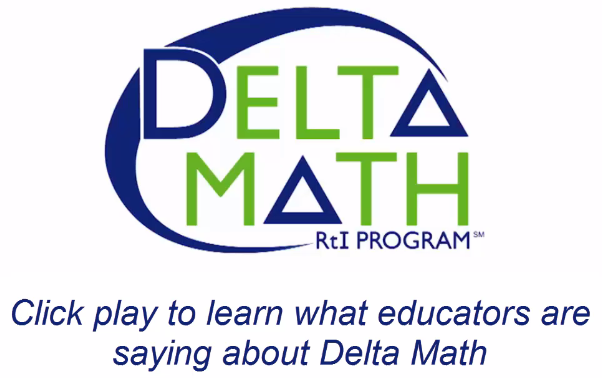 This video describes how educators throughout Michigan use Delta Math resources to build systems of supports