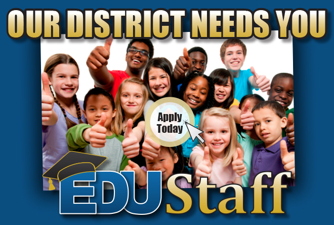 Our District Needs You Graphic