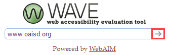 WAVE Evaluation Website